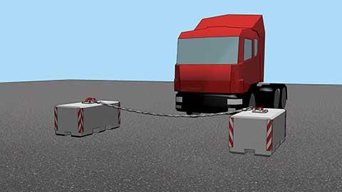 SSK GmbH Mobile Fahrzeugsperren